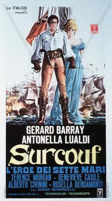 The Fighting Corsair / The Sea Pirate - Poster - Italy
