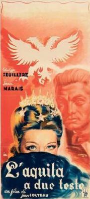 El águila de dos cabezas - Affiche Italie