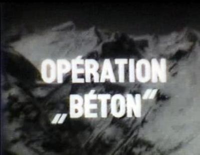 Opération Béton