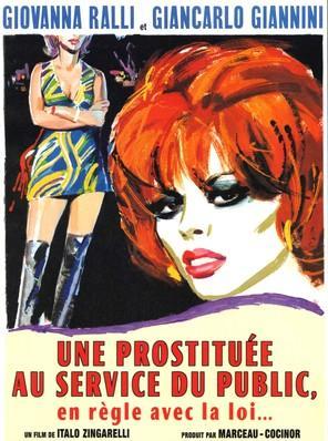 Une prostituée au service du public et en règle avec la loi - Jaquette DVD