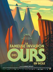 La Fameuse Invasion des ours en Sicile - Affiche teaser
