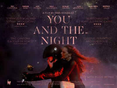You and the Night - Poster - United Kingdom