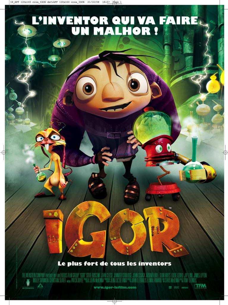 Igor Movie Poster Igor Poster France Igor