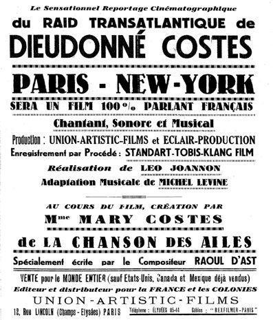 Costes et l'Atlantique