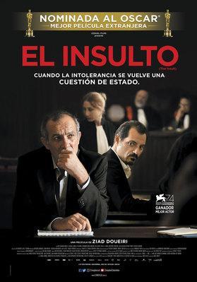 El Insulto - Poster - Colombia