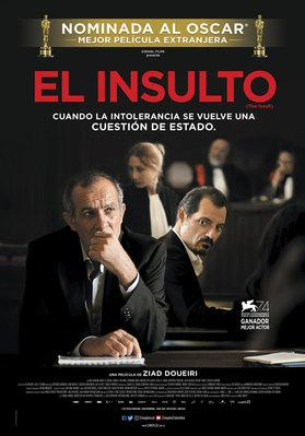 The Insult - Poster - Colombia