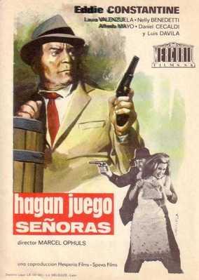 Hagan Juego, Señoras - Poster Espagne