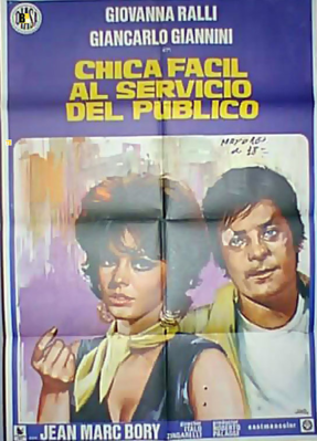Chica fácil al servicio del público - Poster - Spain