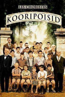 Los Chicos del coro - Poster Estonie