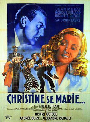 Christine se marie