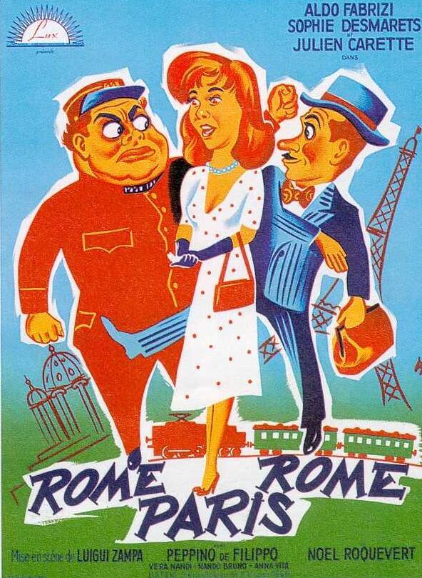Rome-Paris-Rome
