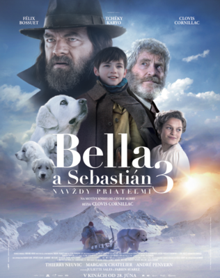 Belle and Sebastian, Friends for Life - Poster - Slovakia