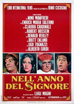 El Poder no perdona (En el año del Señor) - Poster - Italy