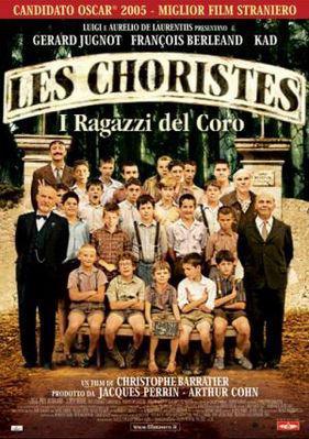 Los Chicos del coro - Poster Italie