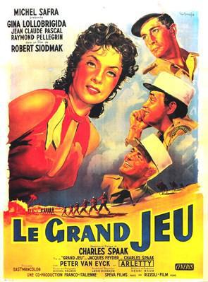 ... Cosette and Marius in Les misérables (1957, Jean-Paul Le Chanois