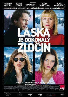 El Amor es un crimen perfecto - Poster - Slovakia