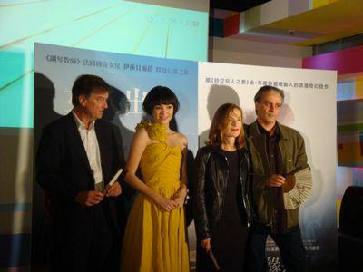 Film festivals in the Far East welcome French films - Benoît Jacquot/Isabelle Huppert/Gilles Bourdos - © Unifrance.org