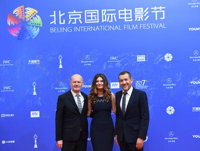 Portfolio: Dany Boon and Alice Pol in Beijing for R.A.I.D. Special Unit