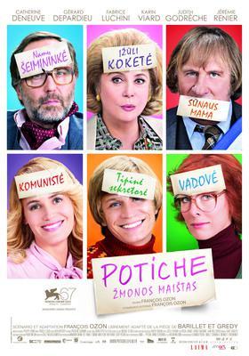 Potiche, mujeres al poder - Affiche Lituanie