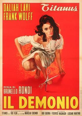 Le Démon dans la chair - Poster - Italy