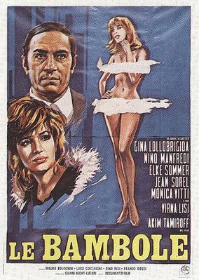Les Poupées - Poster Italie
