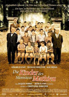 Los Chicos del coro - Poster Allemagne