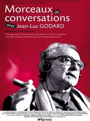 ジャン=リュック・ゴダールとの会話の断片 - Poster France