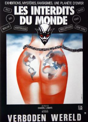 Les Interdits du monde - Poster Belgique
