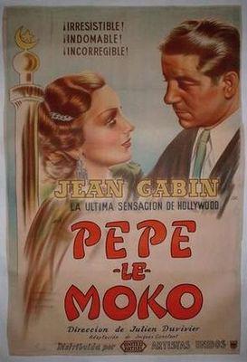 Pépé le Moko - Poster Espagne
