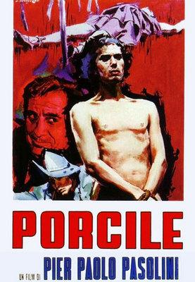 豚小屋 - Poster Italie