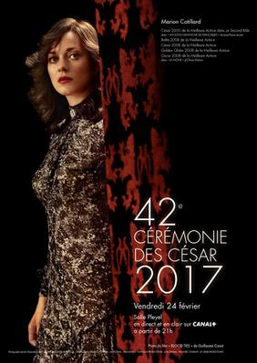 Cesar Awards - French film industry awards - 2017
