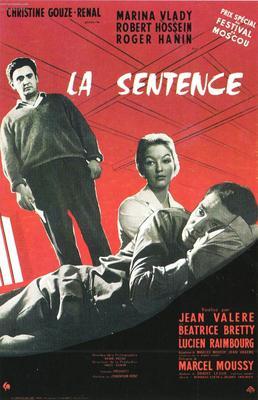 La Sentence - Poster France