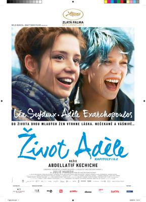 Blue is the Warmest Color - Poster - The Czech Republic