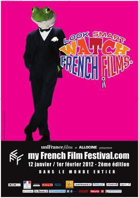 フランス映画をスマートに鑑賞 - Poster MyFrenchFilmFestival 2012 - FR