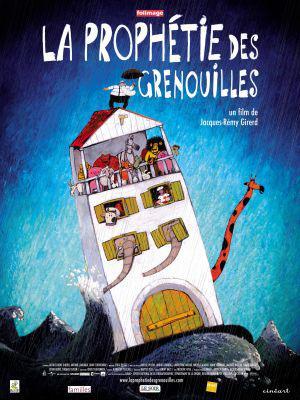La Prophétie des grenouilles - Poster Belgique