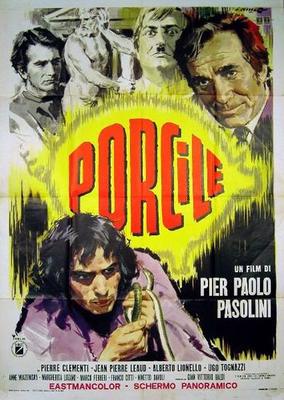 Porcherie - Poster Italie