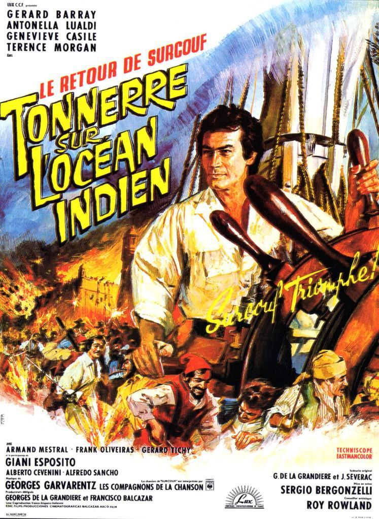 Tonnerre sur l'océan Indien (Le Retour de Surcouf)