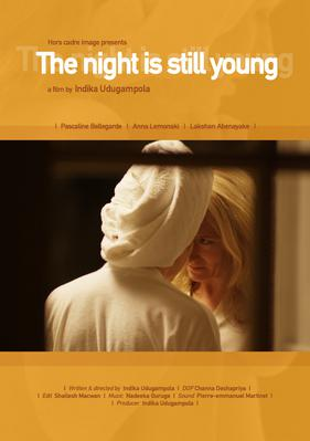 The Night Is Still Young - Poster English