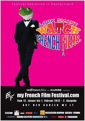 フランス映画をスマートに鑑賞 - Poster MyFrenchFilmFestival 2012 - DE