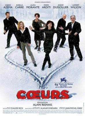 Cœurs - Poster - France