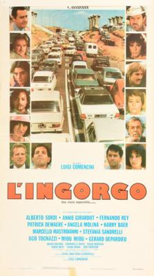 El Gran atasco - Poster Italie