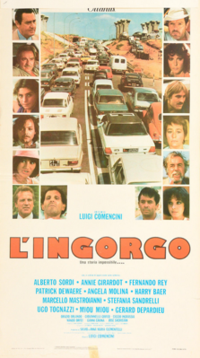 Le Grand Embouteillage - Poster Italie