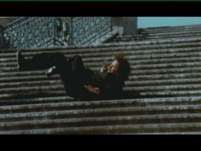 Julien Blaine, l'éléphant et la chute