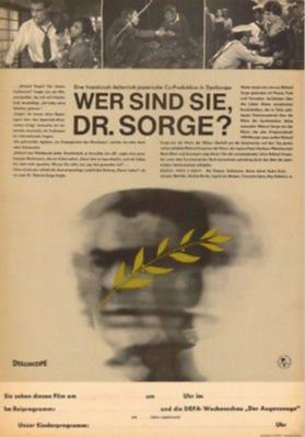 Qui êtes-vous Monsieur Sorge ? - Poster - Allemagne
