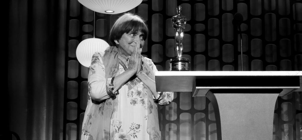 Agnès Varda, the first female director to receive a Governors Award in Hollywood