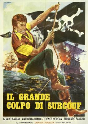 Tonnerre sur l'océan Indien (Le Retour de Surcouf) - Poster - Italy