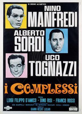 Les Complexés - Poster Italie