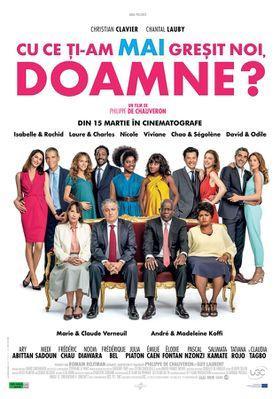 Qu'est-ce qu'on a (encore) fait au bon Dieu ? - Poster - Romania