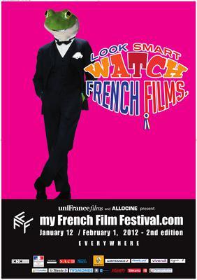 フランス映画をスマートに鑑賞 - Poster MyFrenchFilmFestival 2012 - EN