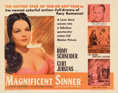 Adorable Sinner / Magnificient Sinner - Poster Royaume-Uni